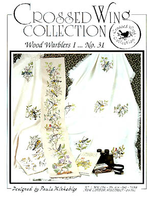 Crossed Wing Collection Wood Warblers I