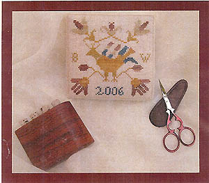 Clearance Dames Of The Needle German Bird Pin Square
