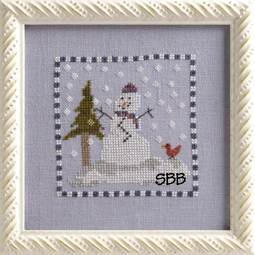 Clearance Dames Of The Needle January Snowman
