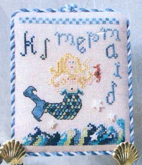 Clearance Dames Of The Needle M Is For Mermaid