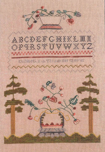 Clearance Dames Of The Needle New England Sampler