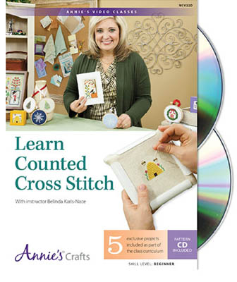 Annie's Learn Counted Cross Stitch DVD