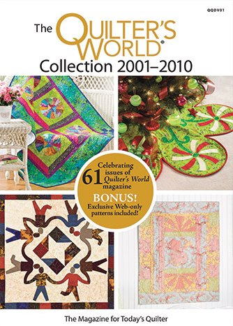 Annie's Quilter's World DVD 2001-2010 Collection