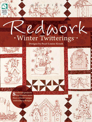 Annie's Redwork Winter Twitterings