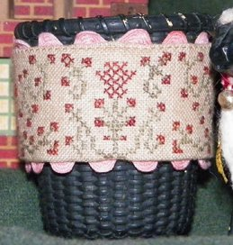 Dames Of The Needle ABC HB Basket Band With Trim
