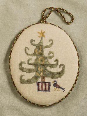 Dames of the Needle Joy Ornament