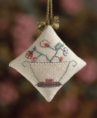 Dames of the Needle New England Sampler Fob
