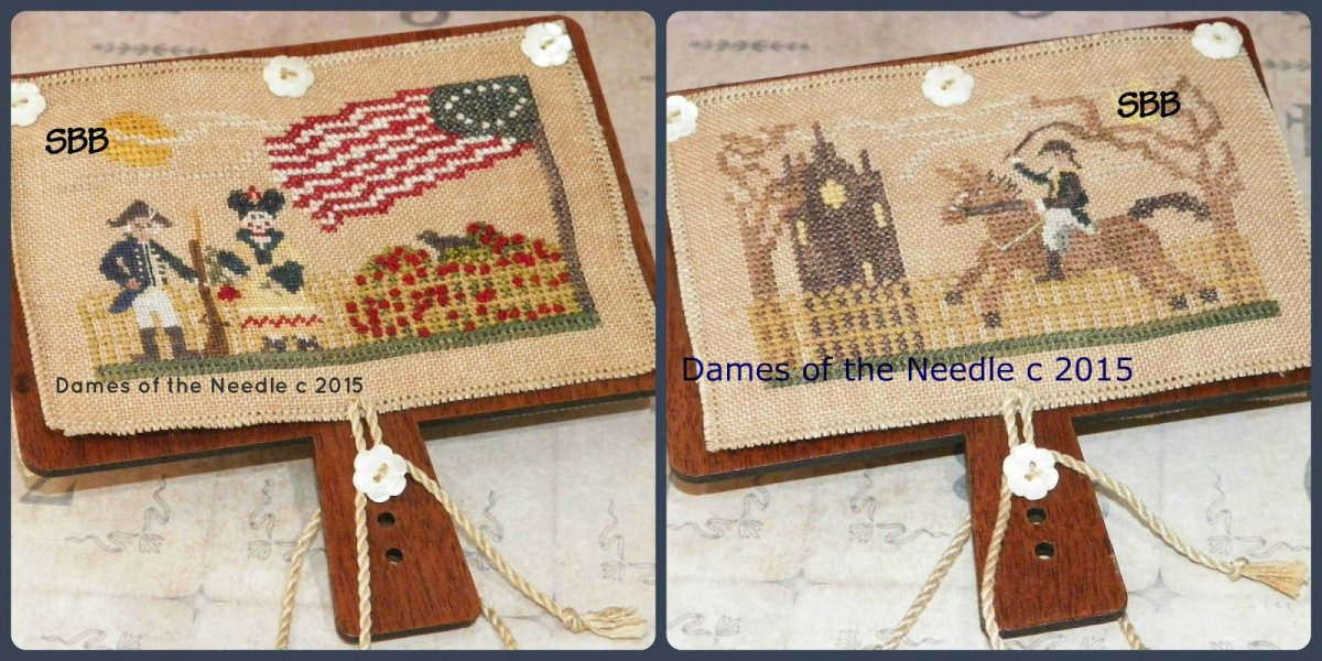 Dames Of The Needle Paul Revere Hornbook