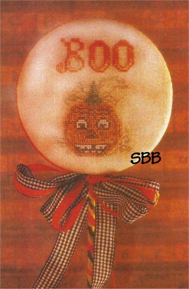 Dames Of The Needle Pumpkin Boo Pick