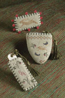 Dames of the Needle Rabbit Garden Sewing Set
