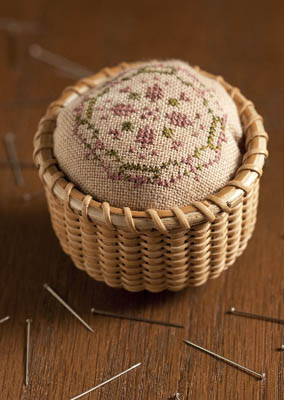 Dames of the Needle Shaker Basket Pin Cushion