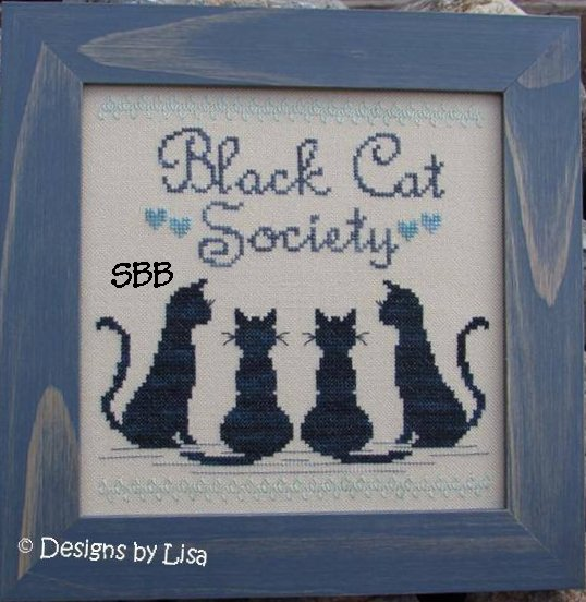 Designs By Lisa Black Cat Society