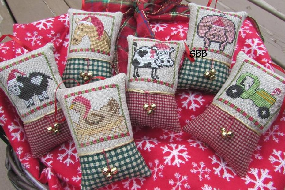 Designs By Lisa Christmas On The Farm