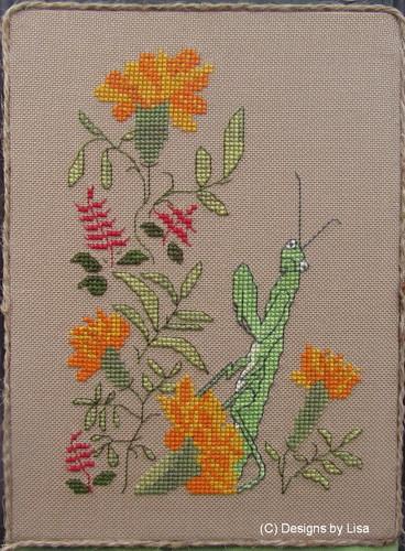 Designs By Lisa Praying Mantis