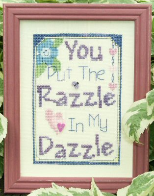 Designs By Lisa You Put The Razzle In My Dazzle