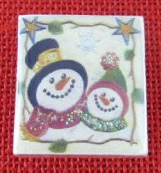 Designs By Lisa Limited Editions Snowfriends Needle Magnet