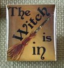 Designs By Lisa Limited Editions The Witch Is In Gold Needle Magnet