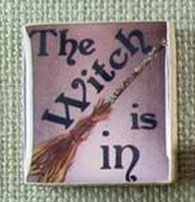 Designs By Lisa Limited Editions The Witch Is In Gold Needle Purple