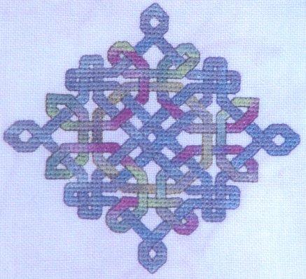 Dinky-Dyes DesignsCeltic Diamond Knot