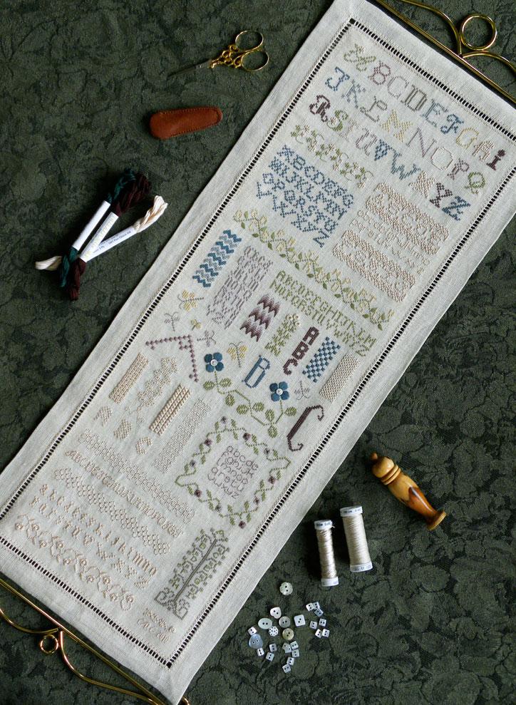 The Drawn ThreadDR154 Alphabets