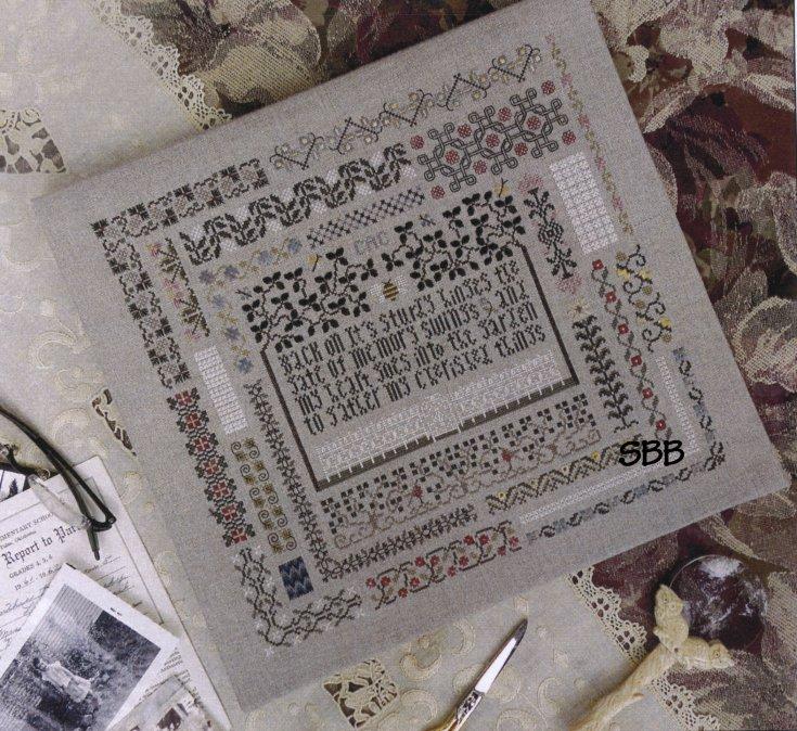 The Drawn ThreadDR187 The Memory Garden