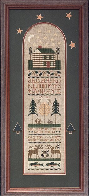 The Drawn Thread DR220 North Country Sampler