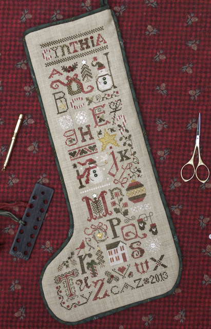 The Drawn Thread DR222 Christmas Thoughts Stocking