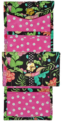 Eazy Peazy Quilts Convenient Coupon Caddy