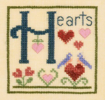 Elizabeth's Designs H Is For Hearts