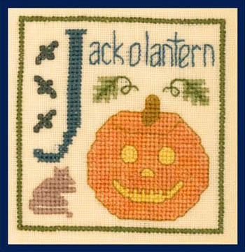 Elizabeth's Designs J Is For Jack O Lantern