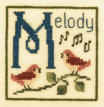 Elizabeth's Designs M Is For Melody