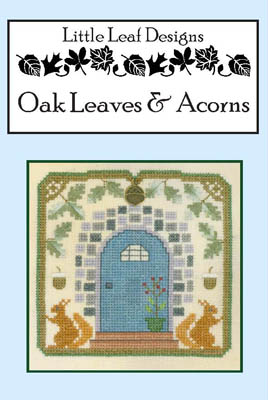 Elizabeth's Designs Oak Leaves & Acorns