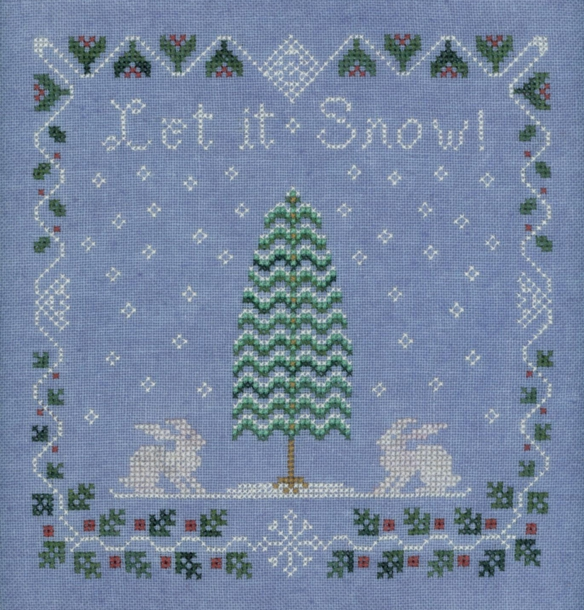 Elizabeth's Designs Snow Berry Sampler