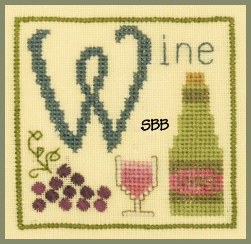 Elizabeth's Designs W Is For Wine