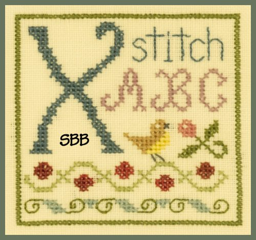 Elizabeth's Designs X Is For Xstitch