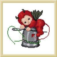 Ellen Maurer  Stroh Little Stitch Devil With Thimble