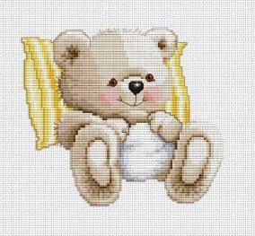 Ellen Maurer  Stroh My Little Teddy Bear
