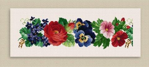 Ellen Maurer-Stroh Flower Border