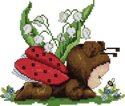 Ellen Maurer-Stroh Ladybug Baby