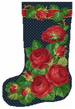 Ellen Maurer-Stroh Rose Stocking1