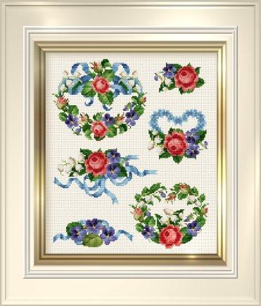 Ellen Maurer-Stroh Roses & Violets Series 2
