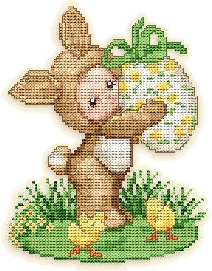 Ellen Maurer-Stroh Spring Bunny Baby