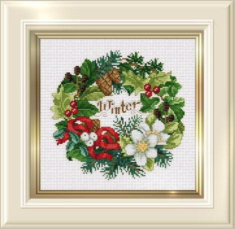 Ellen Maurer-Stroh Winter Wreath