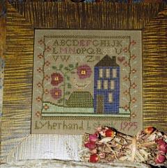 Ewe & Eye & Friends Little Blue House A