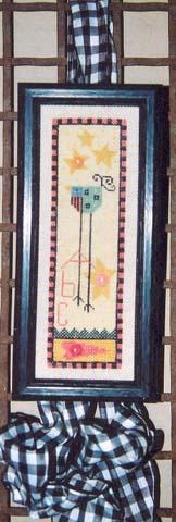 Ewe & Eye & Friends Long Leg Bird