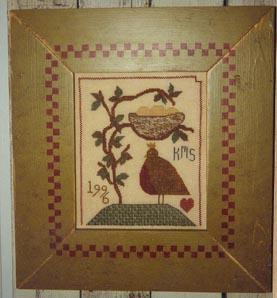 Ewe & Eye & Friends Nesting Bird