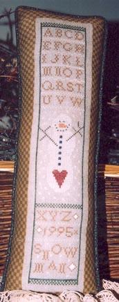 Ewe & Eye & Friends Primitive Snowman