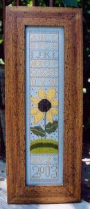 Ewe & Eye & Friends Primitive Sunflower
