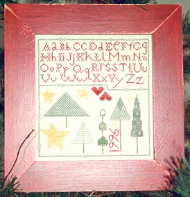 Ewe & Eye & Friends Tall Tree Sampler