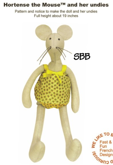 14 Days A Week Hortense The Mouse & Her Undies